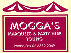 Moggas Marquees & Party Hire Young